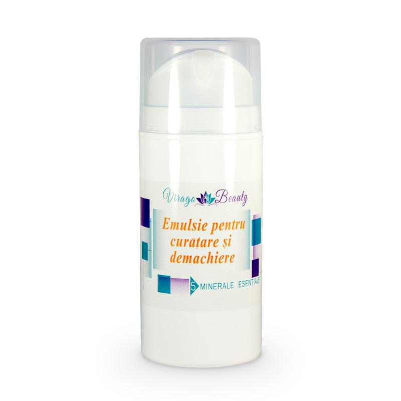 Emulsie pentru curățare și demachiere, 100 ml