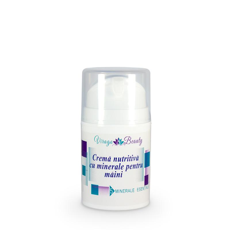 Cremă nutritivă cu minerale pentru mâini, 50 ml