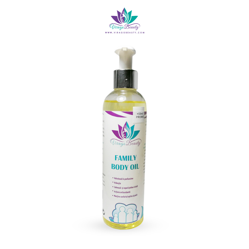 Family body oil, 200 ml [+ 50 ml PROMO]